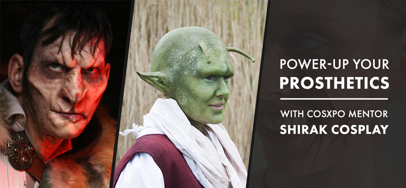 Prosthetics and SFX workshop with Shirak Cosplay